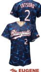 bluegulls野球ユニフォーム