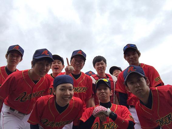 avengers様野球ユニフォーム2